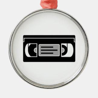 VHS Cassette Tape Christmas Tree Ornament