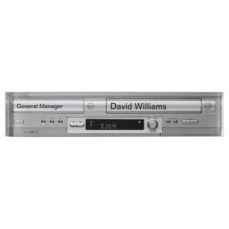 Vhs Dvd Player Faceplate Name Plates