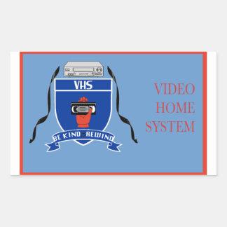 VHS - Sticker
