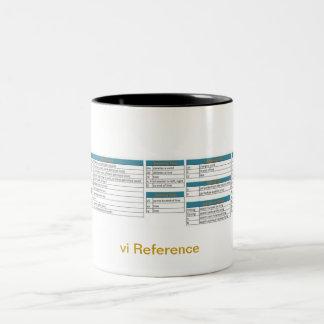 vi Coffee Mug Reference