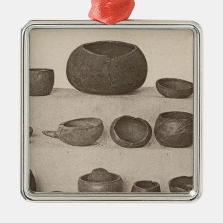VI Vessels, So Calif Silver-Colored Square Decoration