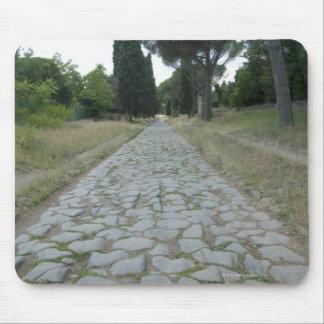Via Appia  Appian way, roman roadway Mousepad