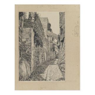 Via Dolorosa by James Tissot Postcard