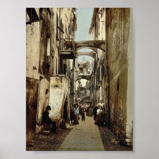 Via Guioco della Palla, San Remo, Riviera classic Posters