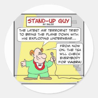 viagra terrorism air travel underwear explosive stickers