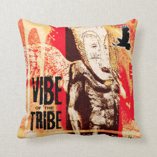 vibe of the tribe throw cushions