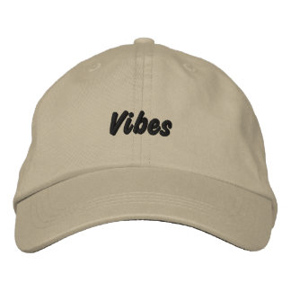 Vibes Embroidered Baseball Cap