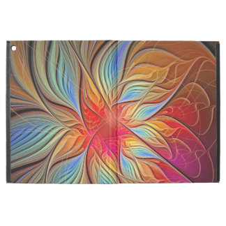 """Vibrant Abstract Floral Pattern iPad Pro 12.9"""" Case"""