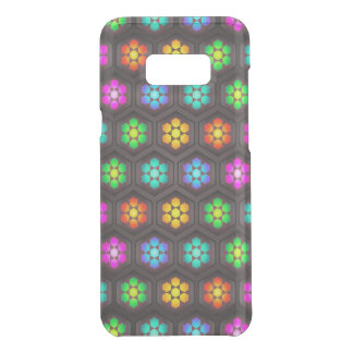 Vibrant Abstract Flower Pattern Uncommon Samsung Galaxy S8 Plus Case
