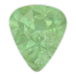 Vibrant abstract pattern pearl celluloid guitar pick