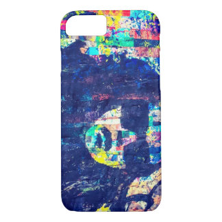 Vibrant Abstract Silhouette Cellphone Case