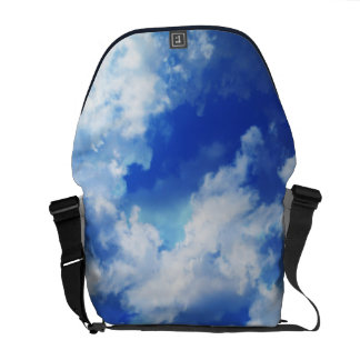 Vibrant Abstract Sky Courier Bags