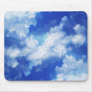 Vibrant Abstract Sky Mouse Mat