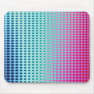 Vibrant Abstract Tiles Mouse Mat