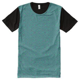Vibrant angles All-Over print T-Shirt