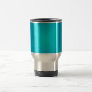 Vibrant Aqua Blue>Travel /Commuter  Mug