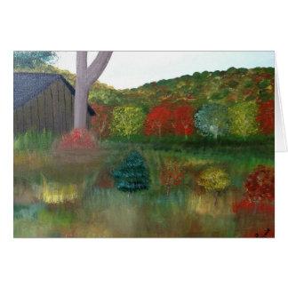 Vibrant Autumn 5x7 Card