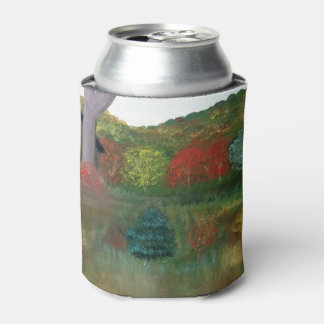 Vibrant Autumn Can Cooler