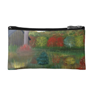 Vibrant Autumn Cosmetic Bag