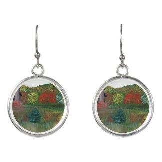 Vibrant Autumn Drop Earrings
