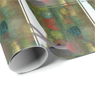 Vibrant Autumn Gift Wrap