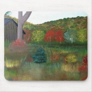 Vibrant Autumn Mouse Pad
