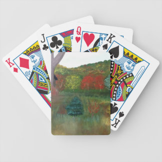 Vibrant Autumn Playing Cards