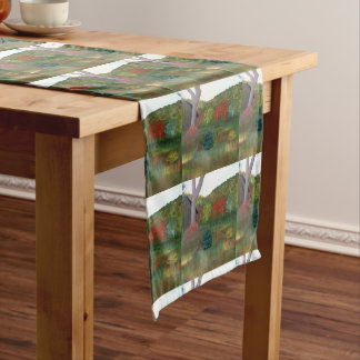 Vibrant Autumn Table Runner