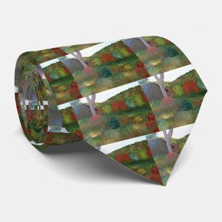 Vibrant Autumn Tie