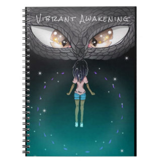 Vibrant Awakening Cover Notebook