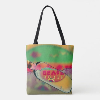 Vibrant 'Beach House' In a Bottle PIPCAM Tote Bag