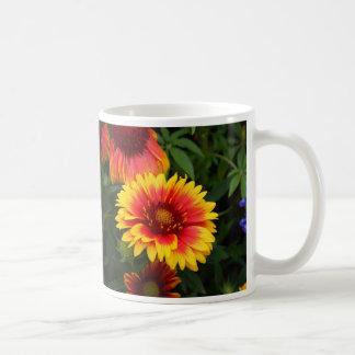 Vibrant Blanket Flower Photo Basic White Mug