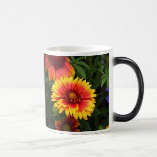 Vibrant Blanket Flower Photo Morphing Mug