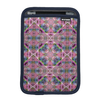 Vibrant Blue Deep Purple Rickshaw iPad Mini Sleeve