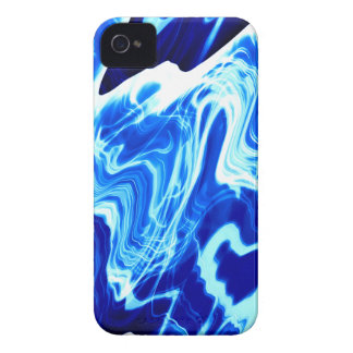 Vibrant blue iPhone 4 case