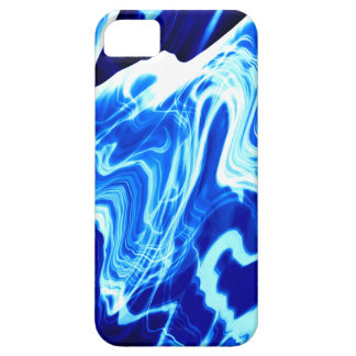 Vibrant blue iPhone 5 cover