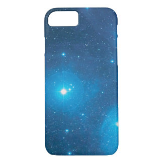 Vibrant blue space iphone 7 case