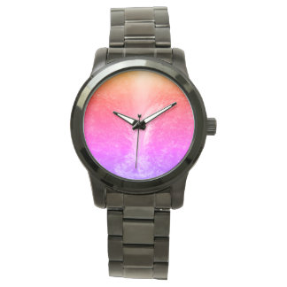 """Vibrant Bright Tranquil Waterfall"" Watch"