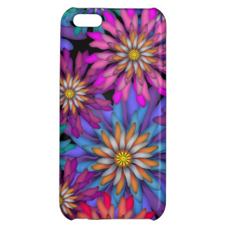 Vibrant Colored Flowers Floral Art iPhone 5C Cover