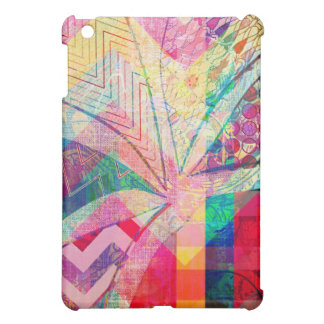 Vibrant Colorful Funky Abstract Girly Butterfly Ch iPad Mini Cases
