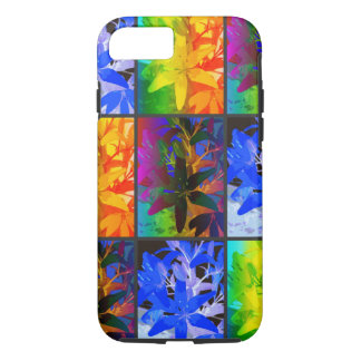 Vibrant Colorful Lilies - iPhone Case