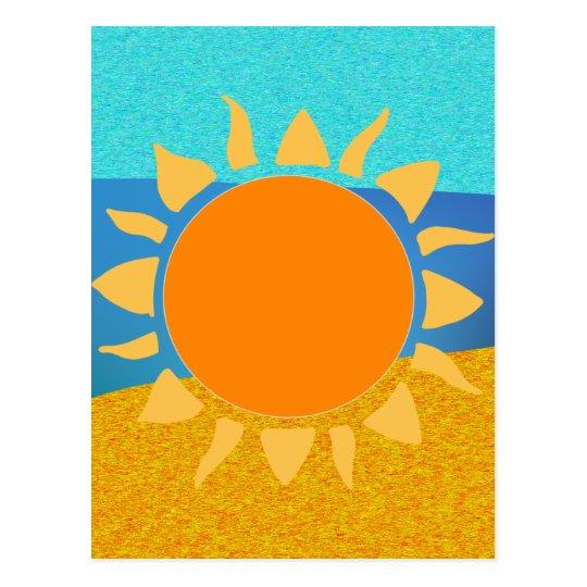 Vibrant Colours Florida... Where the Sun Lives Postcard