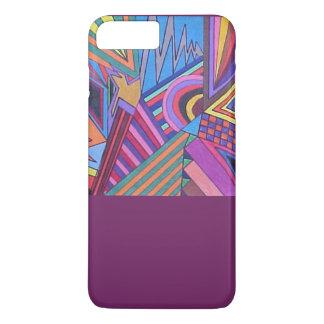 Vibrant colours iPhone 7 plus case