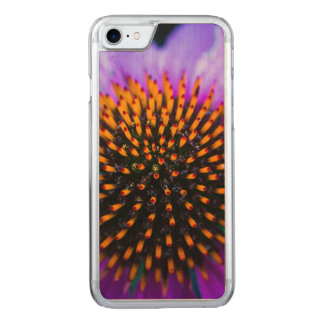 Vibrant Coneflower Carved iPhone 8/7 Case