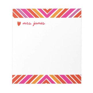 Vibrant Criscross Notepads