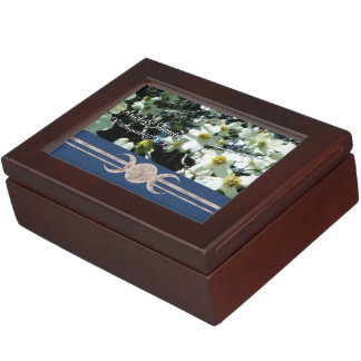 Vibrant Dogwood Triple Moon Handfasting Cord Box