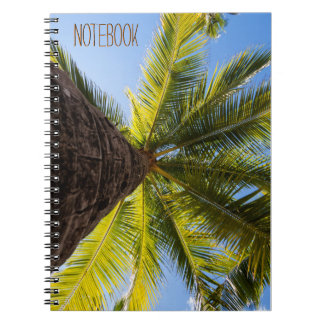 Vibrant Exotic Palm Tree Notebook
