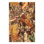Vibrant Fall Forest Nature Camouflage Decor Customized Stationery