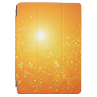 Vibrant floral abstract. iPad air cover