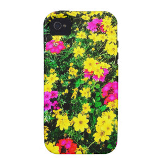 Vibrant Flower Bed Vibe iPhone 4 Cover